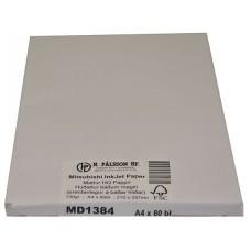 MD1384 Tvíhliða mattur bleksprautupappír, 130g A4