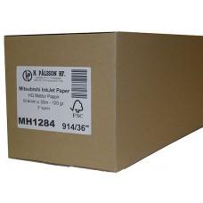 MH1284 Mattur bleksprautupappír, 120 g 914mm